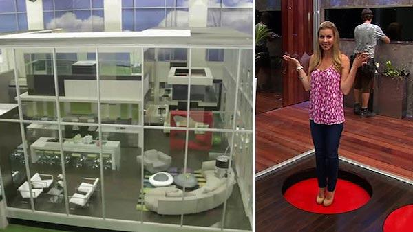 ABC's 'Glass House' - 'limbo box' demonstration
