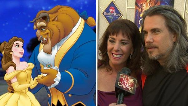 Belle appears in a scene from 'Beauty and the Beast.' / Paige O'Hara and Robby Benson talk to OnTheRedCarpet.com at a screening of 'Beauty and the Beast' to mark its new Blu-ray hi-def Diamond Collection edition on Oct. 2, 2010.