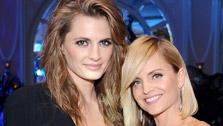 Stana Katic of Castle and Mena Suvari attend the 100th anniversary celebration of the Beverly Hills Hotel and Bungalows, supporting the Motion Picture and Television Fund and the American Comedy Fund, at the venue on June 16, 2012. - Provided courtesy of OTRC / Stefanie Keenan / Getty Images for The Beverly Hills Hotel