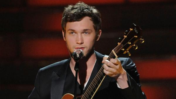 The Season 11 winner Phillip Phillips performs his victory song during the season 11 American Idol Grand Finale at the Nokia Theatre on Weds. May 23, 2012 in Los Angeles, California. - Provided courtesy of Michael Becker/FOX