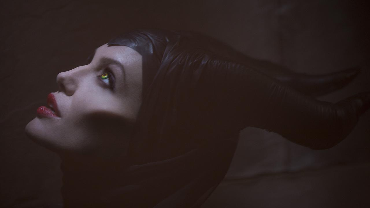Angelina Jolie appears as the title character in Walt Disney Studios film Maleficent, set for release on March 14, 2014.