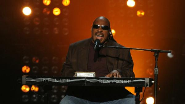 Stevie Wonder performs on The X Factor finale on Dec. 22, 2011. - Provided courtesy of Ray Mickshaw / FOX