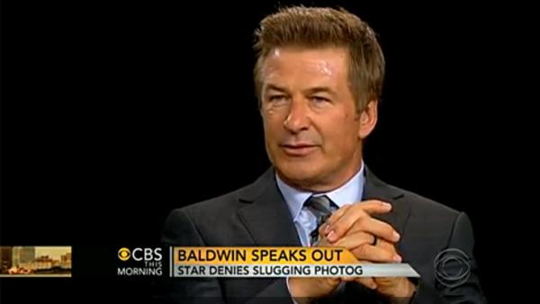 Alec Baldwin appears on a June 19, 2012 episode of The Charlie Rose Show. - Provided courtesy of CBS