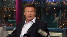 Alec Baldwin appears on a June 20, 2012 episode of The Late Show with David Letterman. - Provided courtesy of CBS