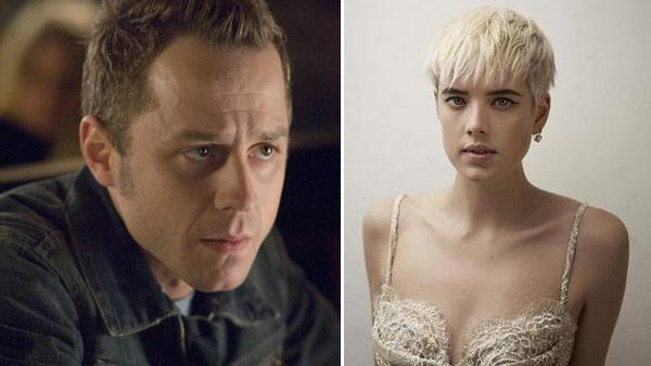 Giovanni Ribisi appears in a still from the 2007 film, 'Perfect Stranger.' / Agyness Deyn appears in an undated photo from her Facebook page.