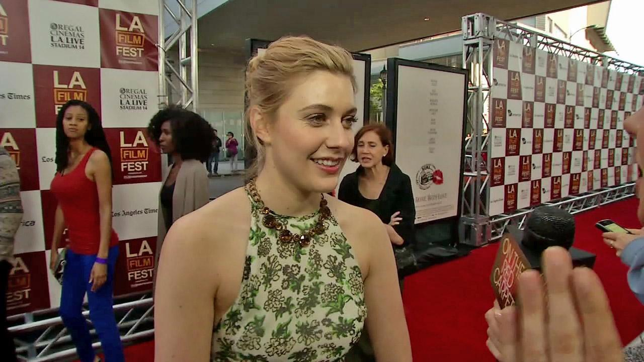 Greta Gerwig appears at the premiere of To Rome With Love at the Los Angeles Film Festival on June 14, 2012.