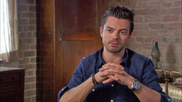 Dominic Cooper talks 'Vampire Hunter' role