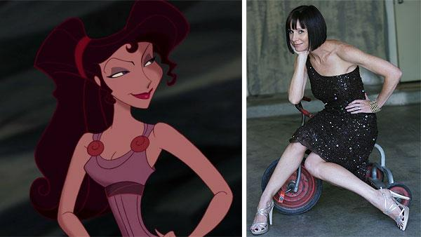 Meg appears in a scene from Disney's 1997 movie 'Hercules.' / Susan Egan appears in a publicity photo posted on her website, susanegan.net.
