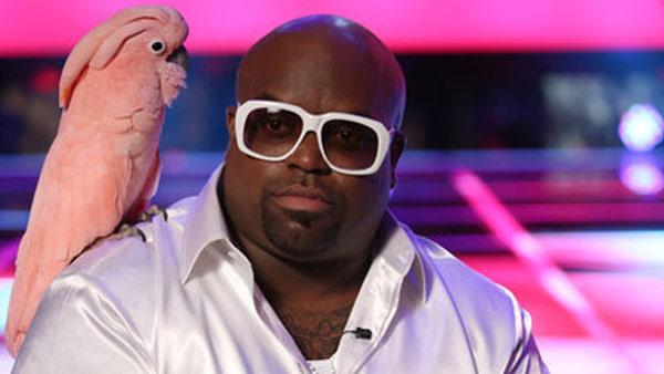Cee Lo Green appears in a still from The Voice season three. - Provided courtesy of Tyler Golden/NBC