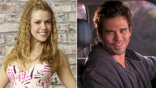 David Walton appears in a scene from the NBC show Bent. /  Majandra Delfino appears in a photo from the ABC Family show State of Georgia. - Provided courtesy of NBC / ABC Television Studios