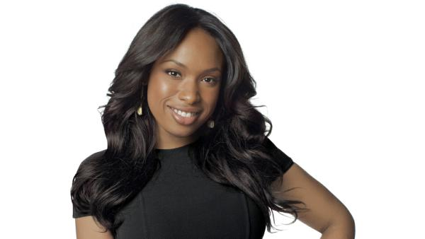 Jennifer Hudson appears in an undated photo during a Weight Watchers photoshoot featured on her official website. - Provided courtesy of Jenniferhudson.com