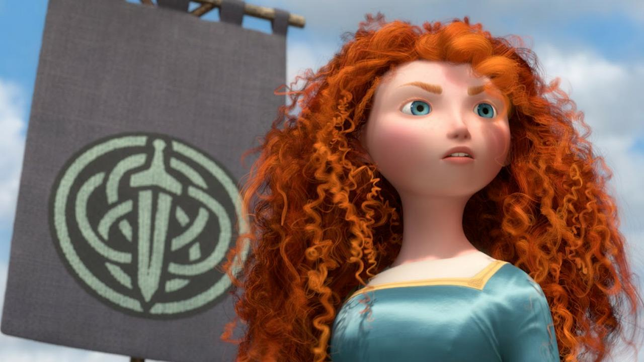 A undated still from the 2012 film Brave.