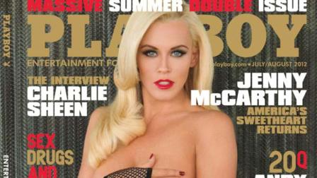Jenny McCarthy appears on the cover of Playboy magazines July / August