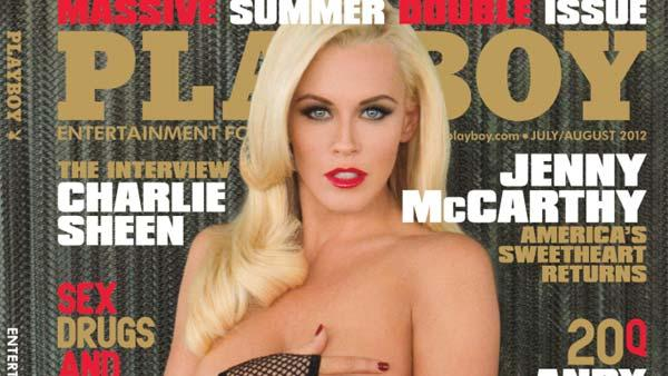 Jenny McCarthy appears on the cover of Playboy magazines July / August 2012 issue. - Provided courtesy of Playboy