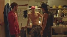 Alex Pettyfer, Matthew McConaughey and Channing Tatum appear in a still from the 2012 film, Magic Mike. - Provided courtesy of none / Warner Bros. Entertainment