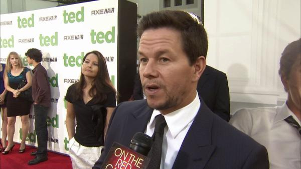 Mark Wahlberg talks to OnTheRedCarpet.com at the premiere of Ted on June 21, 2012. - Provided courtesy of OTRC