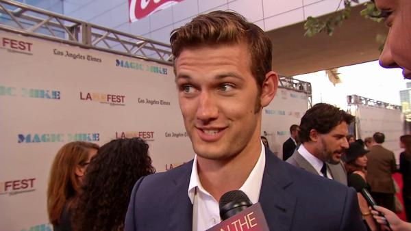 Alex Pettyfer at 'Magic Mike' premiere