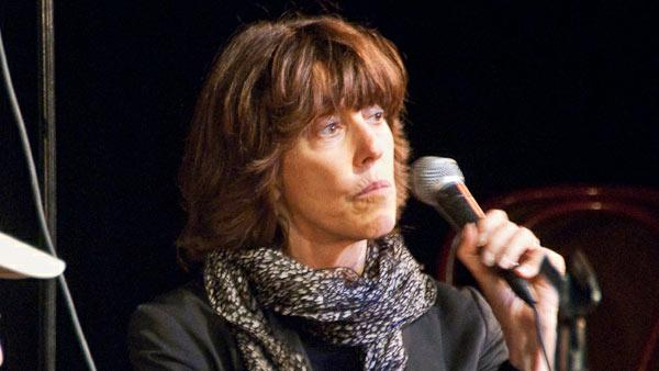 Nora Ephron appears on stage at a WFMU's Seven Second Delay - Live show at the UCB Theater in New York on Sept. 23, 2009.