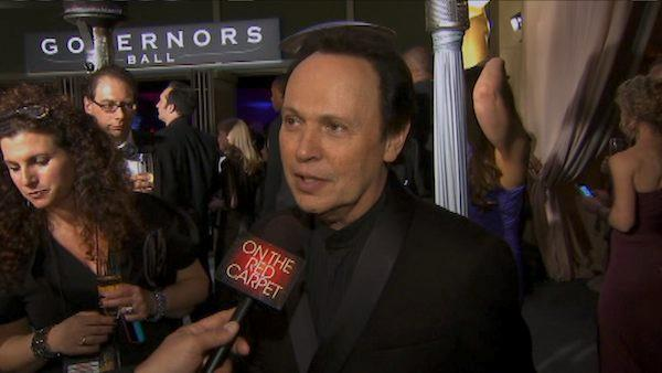 OnTheRedCarpet.com talks to Billy Crystal at the Oscar after party at the Governors Ball on Feb. 26, 2012.