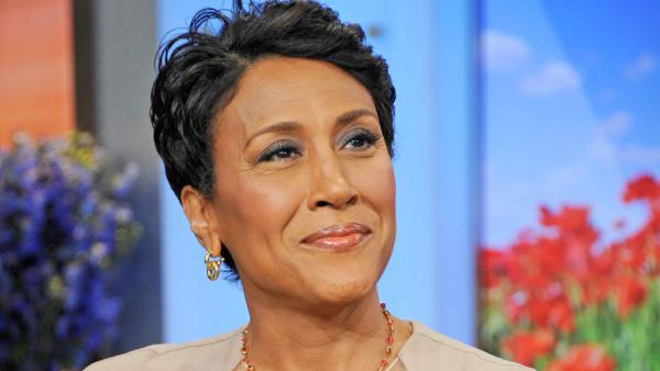 Robin Roberts appears in a photo after announcing her MDS diagnosis on June 11, 2012.