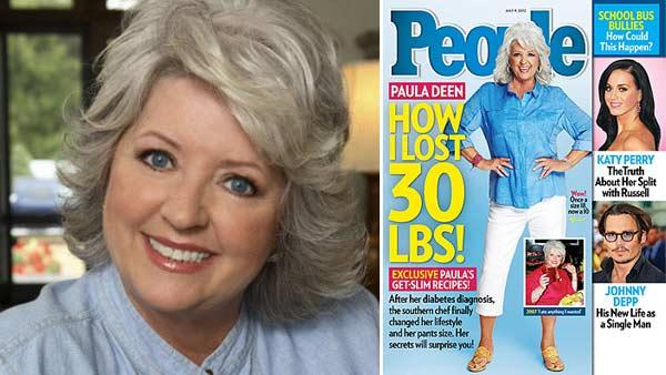 Paula Deen appears in a 2010 promotional photo posted on the Food Network's website. / Paula Deen appears on a June 2012 cover of People magazine.