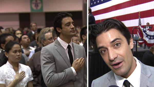 Gilles Marini: Becoming U.S. citizen was my dream