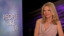 Michelle Pfeiffer talks to OnTheRedCarpet.com at a junket for People Like Us on June 15, 2012. - Provided courtesy of OTRC