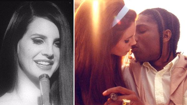 Lana Del Rey and A$AP ROCKY appear in a still from the singers National Anthem music video. - Provided courtesy of Dope Cinema