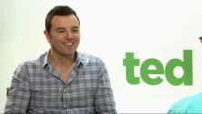 Seth MacFarlane talks to OnTheRedCarpet.com about the movie Ted in June 2012.
