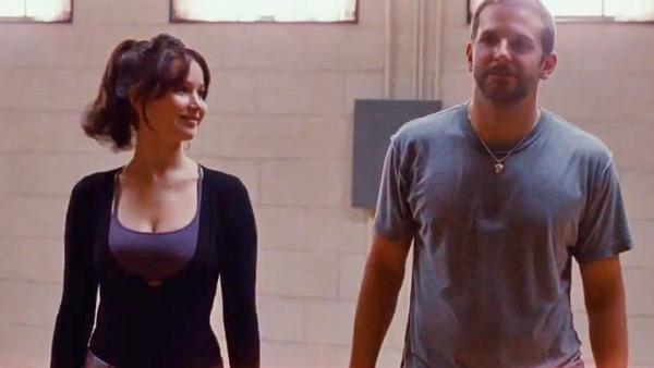 Jennifer Lawrence and Bradley Cooper appear in a still from Silver Linings Playbook. - Provided courtesy of The Weinstein Company