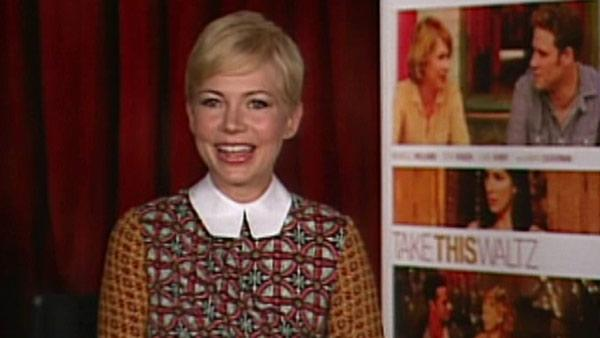 Michelle Williams says 'Take this Waltz' is 'intense and hot'