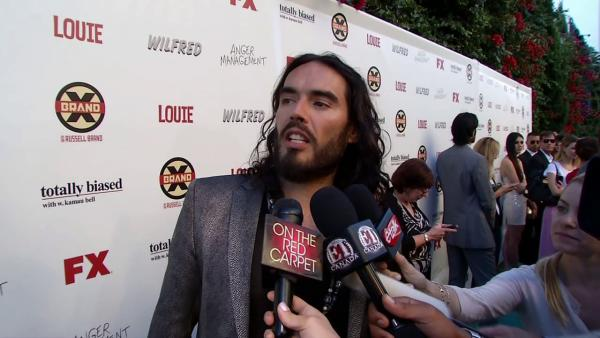 Russell Brand's 'orgy' of interviews