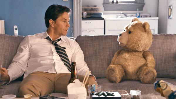 Mark Wahlberg appears in a still from the 2012 film Ted. - Provided courtesy of Universal Pictures