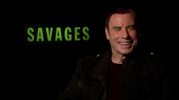 John Travolta talks 'Savages,' menage et trois