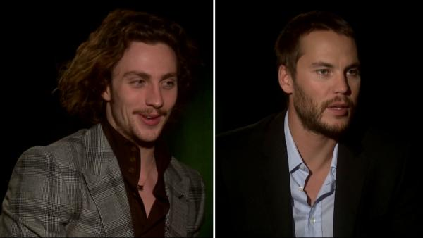 Aaron Johnson, Taylor Kitsch talk 'Savages'