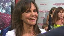 Sally Field talked to OnTheRedCarpet.com at the premiere of The Amazing Spider-Man on June 28, 2012. - Provided courtesy of OTRC