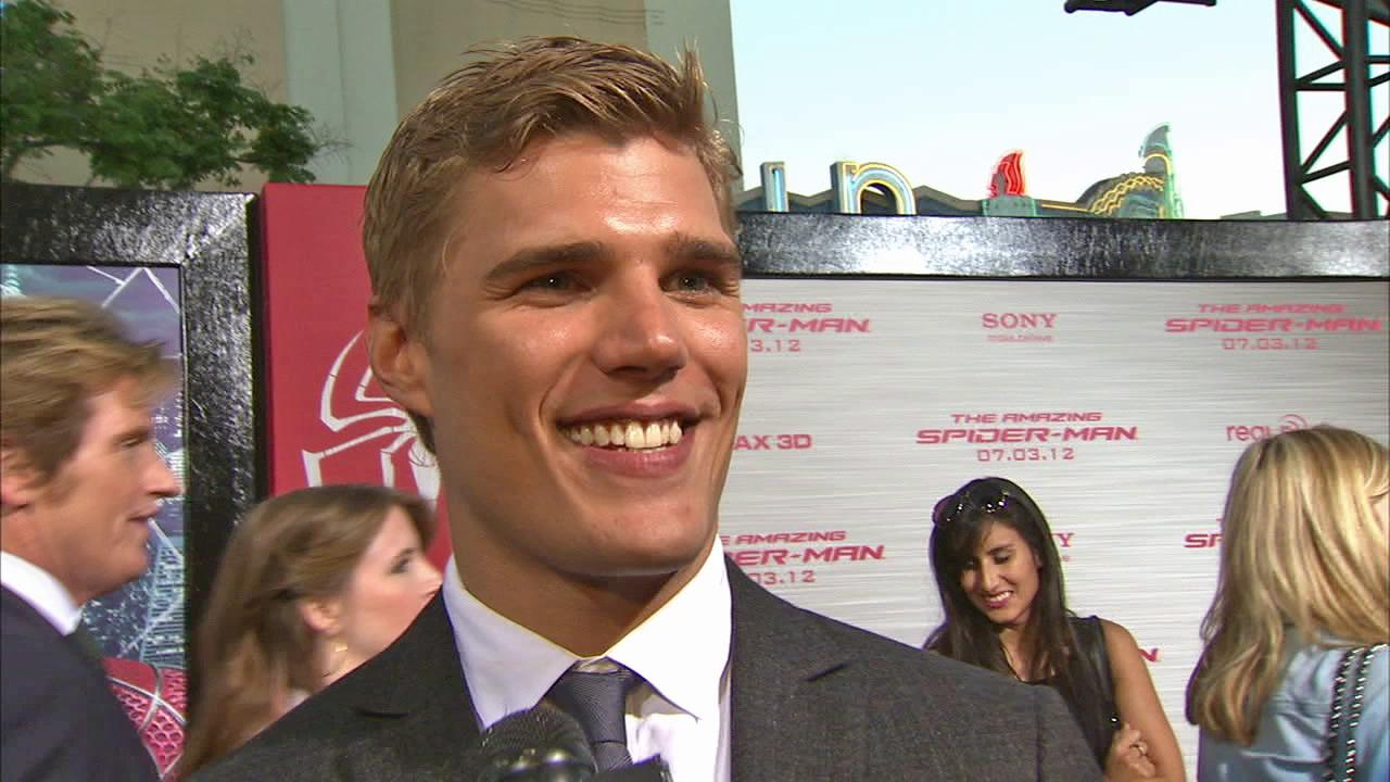 Chris Zylka talked to OnTheRedCarpet.com at the premiere of The Amazing Spider-Man on June 28, 2012.