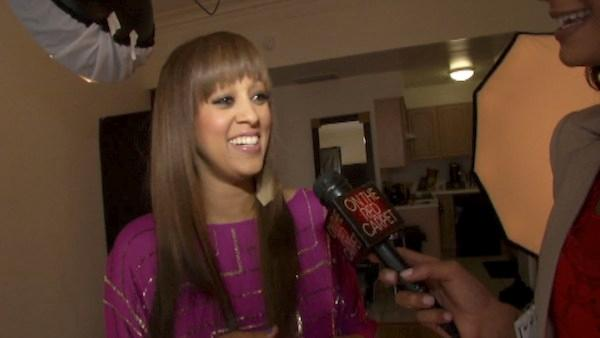 Tia Mowry talks to OnTheRedCarpet.com about her baby, being a sexy mom and her show.
