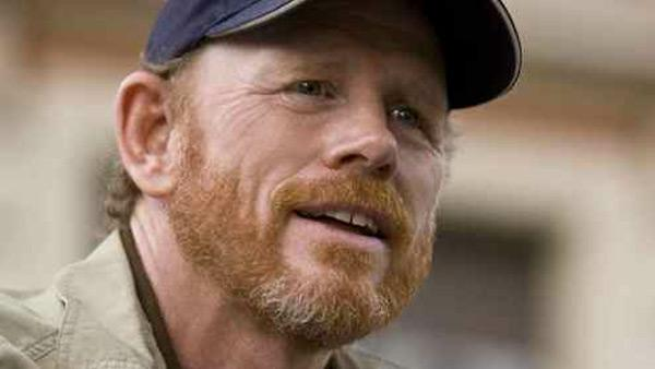 Ron Howard appears in a Twitter photo in 2012.