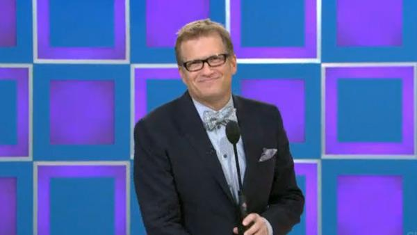 Drew Carey appears on 'The Price is Right' in an episode that aired on Dec. 26, 2011.