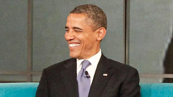 U.S. President Barack Obama appears on a May 15, 2012 episode of the ABC show 'The View.'