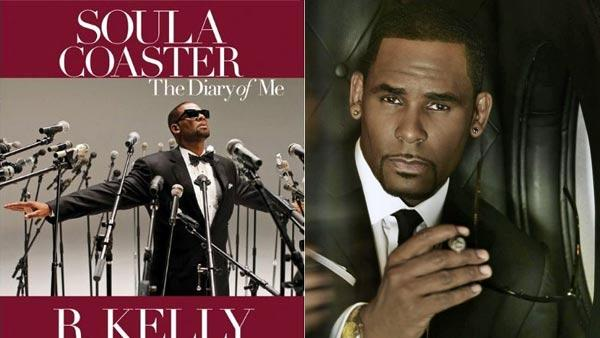 R. Kelly appears in a promotional photo posted on his official facebook page on June 1, 2012. / The cover of Kellys autobiography SoulaCoaster. - Provided courtesy of Jive Records / SmileyBooks