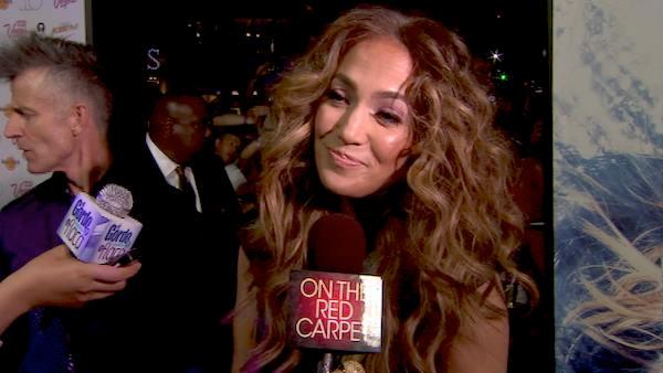 Jennifer Lopez talks to OnTheRedCarpet.com in 2011.