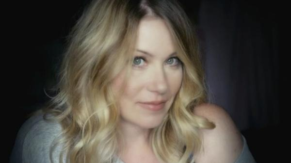 Christina Applegate appears in a promo for NBC's new comedy, 'Up All Night.'