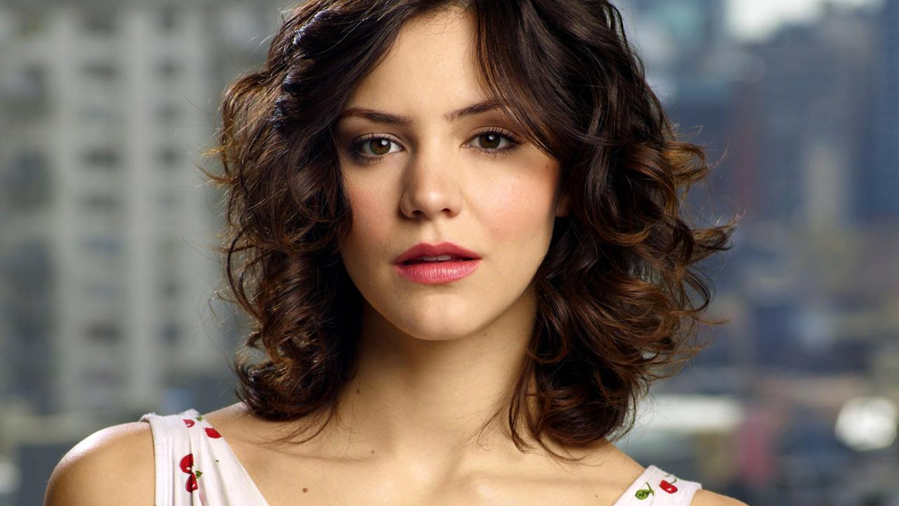 Katharine Mcphee appears in a promotional photo for Smash.NBC