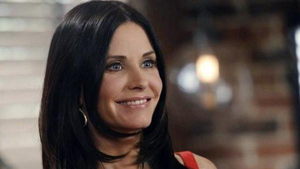 Courteney Cox appears in a still from her ABC series, 'Cougar Town.'