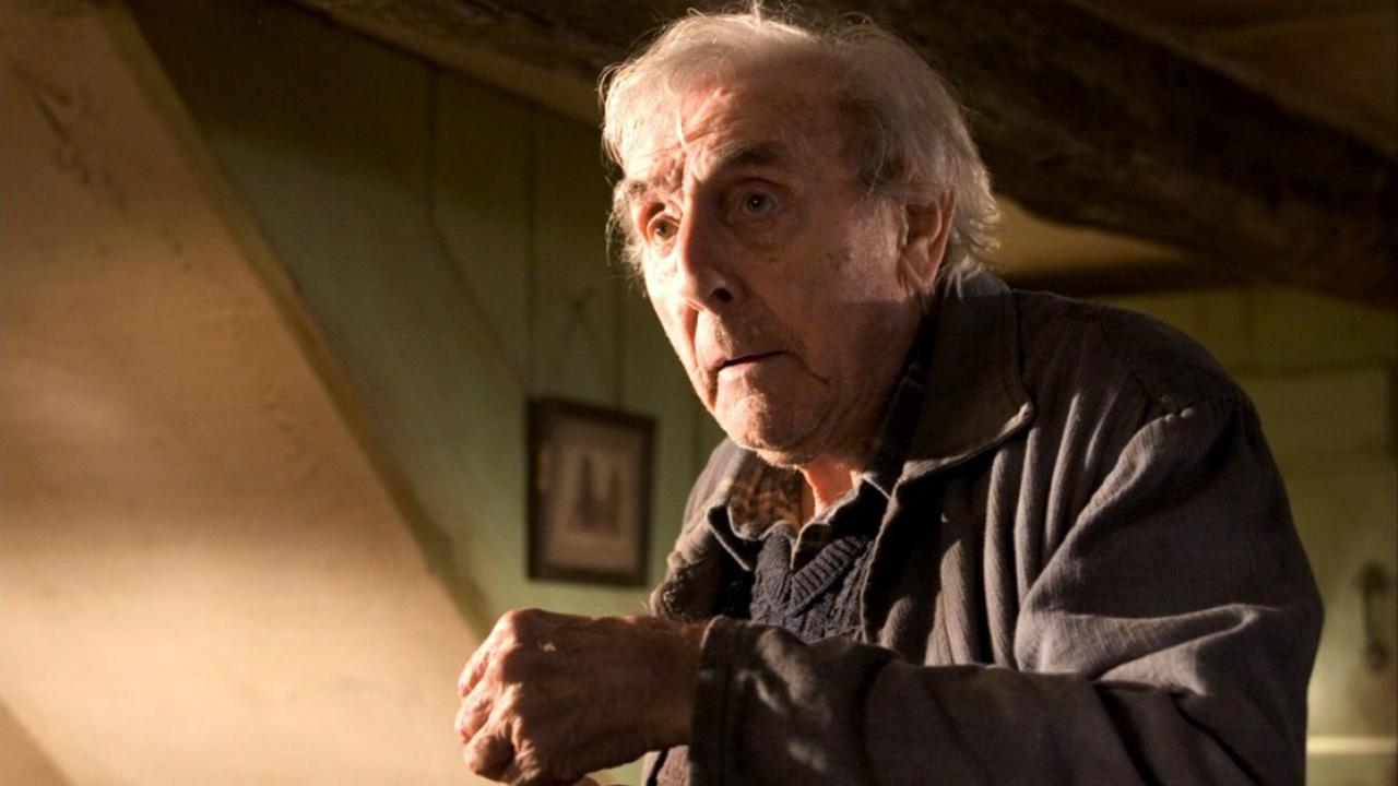 Eric Sykes appears in a still from the 2005 movie, Harry Potter and the Goblet of Fire.Warner Bros. Pictures