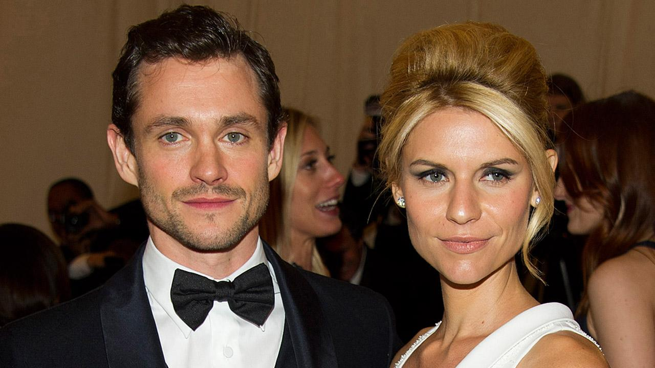 Hugh Dancy and Claire Danes arrive at the Metropolitan Museum of Art Costume Institute gala benefit, celebrating Elsa Schiaparelli and Miuccia Prada, Monday, May 7, 2012 in New York.