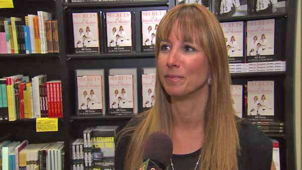 Jill Zarin talks to OnTheRedCarpet.com at a signing for her book Secrets of a Jewish Mother: Real Advice, Real Stories, Real Love in Los Angeles in August 2010. - Provided courtesy of OTRC