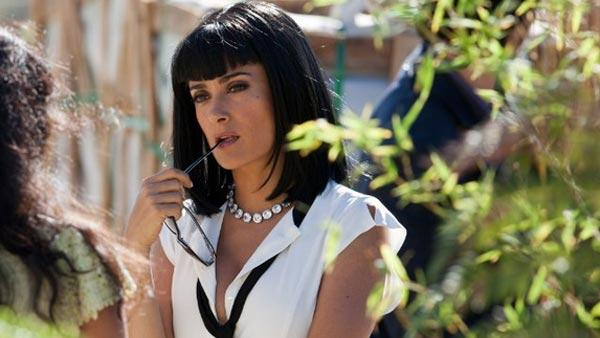 Salma Hayek appears in a scene from the 2012 movie 'Savages.'